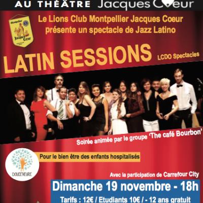 Ce dimanche 19 Novembre: un spectacle Jazz latino au profit de Douce Heure